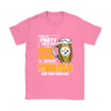 NFL – I Like To Party And By Party I Mean Drink Beer And Watch My Pittsburgh Steelers Beat Your Team's Ass International Beer Day NFL Football Shirt-T-shirt-Gildan Womens T-Shirt-Azalea-S-Itees Global