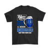 NFL – I Like To Party And By Party I Mean Drink Beer & Watch My Indianapolis Colts Beat Your Team's Ass International Beer Day NFL Football Shirt-T-shirt-Gildan Mens T-Shirt-Black-S-Itees Global