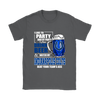 NFL – I Like To Party And By Party I Mean Drink Beer & Watch My Indianapolis Colts Beat Your Team's Ass International Beer Day NFL Football Shirt-T-shirt-Gildan Womens T-Shirt-Charcoal-S-Itees Global