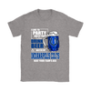 NFL – I Like To Party And By Party I Mean Drink Beer & Watch My Indianapolis Colts Beat Your Team's Ass International Beer Day NFL Football Shirt-T-shirt-Gildan Womens T-Shirt-Sport Grey-S-Itees Global