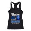 NFL – I Like To Party And By Party I Mean Drink Beer & Watch My Indianapolis Colts Beat Your Team's Ass International Beer Day NFL Football Shirt-T-shirt-Next Level Racerback Tank-Black-XS-Itees Global