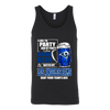 NFL – I Like To Party And By Party I Mean Drink Beer & Watch My Los Angeles Rams Beat Your Team's Ass International Beer Day NFL Football Shirt-T-shirt-Canvas Unisex Tank-Black-S-PopsSpot