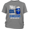 NFL – I Like To Party And By Party I Mean Drink Beer & Watch My Los Angeles Rams Beat Your Team's Ass International Beer Day NFL Football Shirt-T-shirt-District Youth Shirt-Sport Grey-XS-PopsSpot