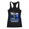NFL – I Like To Party And By Party I Mean Drink Beer & Watch My Los Angeles Rams Beat Your Team's Ass International Beer Day NFL Football Shirt-T-shirt-Next Level Racerback Tank-Black-XS-PopsSpot