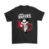 NFL - Kansas City Chiefs Hey Haters Mickey Mouse Shirts-T-shirt-Gildan Mens T-Shirt-Black-S-Itees Global