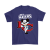 NFL - Kansas City Chiefs Hey Haters Mickey Mouse Shirts-T-shirt-Gildan Mens T-Shirt-Purple-S-Itees Global