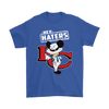 NFL - Kansas City Chiefs Hey Haters Mickey Mouse Shirts-T-shirt-Gildan Mens T-Shirt-Royal Blue-S-Itees Global