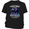 NFL – Mess With Me I Fight Back Mess With My Tennessee Titans And They'll Never Find Your Body The Punisher NFL Football Shirt-T-shirt-District Youth Shirt-Black-XS-PopsSpot