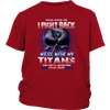 NFL – Mess With Me I Fight Back Mess With My Tennessee Titans And They'll Never Find Your Body The Punisher NFL Football Shirt-T-shirt-District Youth Shirt-Red-XS-PopsSpot