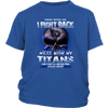 NFL – Mess With Me I Fight Back Mess With My Tennessee Titans And They'll Never Find Your Body The Punisher NFL Football Shirt-T-shirt-District Youth Shirt-Royal Blue-XS-PopsSpot