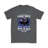 NFL – Mess With Me I Fight Back Mess With My Tennessee Titans And They'll Never Find Your Body The Punisher NFL Football Shirt-T-shirt-Gildan Womens T-Shirt-Charcoal-S-PopsSpot