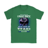 NFL – Mess With Me I Fight Back Mess With My Tennessee Titans And They'll Never Find Your Body The Punisher NFL Football Shirt-T-shirt-Gildan Womens T-Shirt-Irish Green-S-PopsSpot