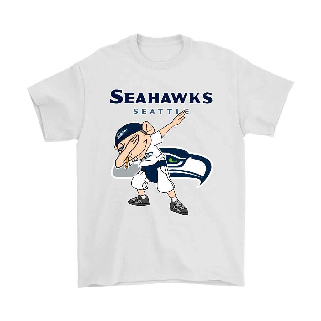 b813bba2 NFL - Seattle Seahawks Jeffy Dabbing Super Mario Logan Football NFL Shirts -