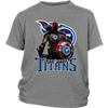 NFL – Tennessee Titans Thor Captain America Spiderman Shirts-T-shirt-District Youth Shirt-Sport Grey-XS-PopsSpot