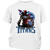 NFL – Tennessee Titans Thor Captain America Spiderman Shirts-T-shirt-District Youth Shirt-White-XS-PopsSpot