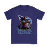 NFL – Tennessee Titans Thor Captain America Spiderman Shirts-T-shirt-Gildan Womens T-Shirt-Purple-S-PopsSpot