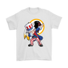 NFL - Washington Redskins Uncle Sam Dabbing Independence Day NFL Football Shirts-T-shirt-Gildan Mens T-Shirt-White-S-PopsSpot