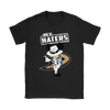 NHL - Anaheim Ducks Hey Haters Mickey Mouse Shirts-T-shirt-Gildan Womens T-Shirt-Black-S-Itees Global