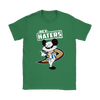 NHL - Anaheim Ducks Hey Haters Mickey Mouse Shirts-T-shirt-Gildan Womens T-Shirt-Irish Green-S-Itees Global