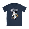 NHL - Anaheim Ducks Hey Haters Mickey Mouse Shirts-T-shirt-Gildan Womens T-Shirt-Navy-S-Itees Global