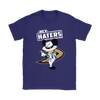 NHL - Anaheim Ducks Hey Haters Mickey Mouse Shirts-T-shirt-Gildan Womens T-Shirt-Purple-S-Itees Global