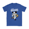 NHL - Anaheim Ducks Hey Haters Mickey Mouse Shirts-T-shirt-Gildan Womens T-Shirt-Royal Blue-S-Itees Global