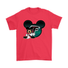 NFL – Atlanta Falcons Mickey Mouse Football Shirts-T-shirt-Gildan Mens T-Shirt-Red-S-PopsSpot