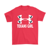 NFL – Houston Texans Girl Under Armour Football Shirt-T-shirt-Gildan Mens T-Shirt-Red-S-Itees Global