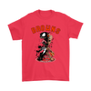 NFL – Cleveland Browns Venom Groot Guardian Of The Galaxy Football Shirts-T-shirt-Gildan Mens T-Shirt-Red-S-Itees Global