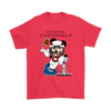 NFL – Arizona Cardinals Mickey Mouse Super Bowl Football Shirt-T-shirt-Gildan Mens T-Shirt-Red-S-PopsSpot