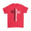 NFL – All I Need Today Is A Little Bit Of Arizona Cardinals And A Whole Lot Of Jesus Football Shirts-T-shirt-Gildan Mens T-Shirt-Red-S-Itees Global