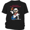 NFL – Arizona Cardinals Mickey Mouse Super Bowl Football Shirt-T-shirt-District Youth Shirt-Black-XS-PopsSpot