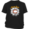 NFL – Awesome Chicago Bears Football Shirts-T-shirt-District Youth Shirt-Black-XS-PopsSpot