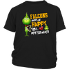 NFL – Atlanta Falcons Makes Me Happy You Not So Much The Grinch Football Sweatshirt-T-shirt-District Youth Shirt-Black-XS-PopsSpot
