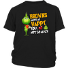 NFL – Cleveland Browns Makes Me Happy You Not So Much The Grinch Football Sweatshirt-T-shirt-District Youth Shirt-Black-XS-Itees Global