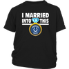 NFL - I Married Into This Indianapolis Colts Football Sweatshirt-T-shirt-District Youth Shirt-Black-XS-PopsSpot