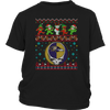 NFL - Baltimore Ravens Christmas Grateful Dead Jingle Bears Football Ugly Sweatshirt-T-shirt-District Youth Shirt-Black-XS-Itees Global