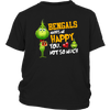 NFL – Cincinnati Bengals Makes Me Happy You Not So Much The Grinch Football Sweatshirt-T-shirt-District Youth Shirt-Black-XS-Itees Global