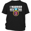 NFL - I Married Into This Houston Texans Football Sweatshirt-T-shirt-District Youth Shirt-Black-XS-Itees Global
