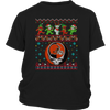 NFL - Cleveland Browns Christmas Grateful Dead Jingle Bears Football Ugly Sweatshirt-T-shirt-District Youth Shirt-Black-XS-Itees Global