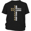 NFL – All I Need Today Is A Little Bit Of Minnesota Vikings And A Whole Lot Of Jesus Football Shirts-T-shirt-District Youth Shirt-Black-XS-PopsSpot