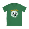 NFL – Awesome Philadelphia Eagles Football Shirts-T-shirt-Gildan Womens T-Shirt-Irish Green-S-Itees Global
