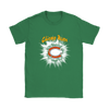 NFL – Awesome Chicago Bears Football Shirts-T-shirt-Gildan Womens T-Shirt-Irish Green-S-PopsSpot