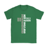 NFL – All I Need Today Is A Little Bit Of Green Bay Packers And A Whole Lot Of Jesus Football Shirt-T-shirt-Gildan Womens T-Shirt-Irish Green-S-Itees Global