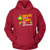 NFL – Cleveland Browns Makes Me Happy You Not So Much The Grinch Football Sweatshirt-T-shirt-Unisex Hoodie-Red-S-Itees Global