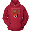 NFL - Cleveland Browns Christmas Grateful Dead Jingle Bears Football Ugly Sweatshirt-T-shirt-Unisex Hoodie-Red-S-Itees Global