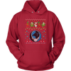 NFL - Carolina Panthers Christmas Grateful Dead Jingle Bears Football Ugly Sweatshirt-T-shirt-Unisex Hoodie-Red-S-PopsSpot