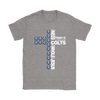 NFL – All I Need Today Is A Little Bit Of Indianapolis Colts And A Whole Lot Of Jesus Football Shirts-T-shirt-Gildan Womens T-Shirt-Sport Grey-S-Itees Global