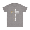 NFL – All I Need Today Is A Little Bit Of Minnesota Vikings And A Whole Lot Of Jesus Football Shirts-T-shirt-Gildan Womens T-Shirt-Sport Grey-S-PopsSpot