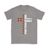 NFL – All I Need Today Is A Little Bit Of Cincinnati Bengals And A Whole Lot Of Jesus Football Shirts-T-shirt-Gildan Womens T-Shirt-Sport Grey-S-PopsSpot